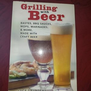 Grilling with beer!